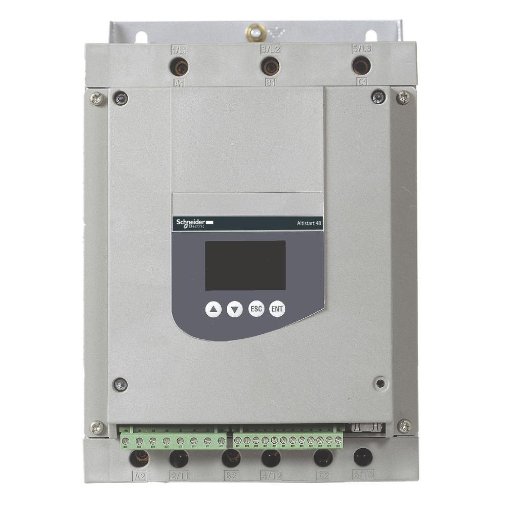HYTECH new stock Altistart 88A 230...415V ATS48 series ATS48D88Q  motor soft starter for Schneider 15-100 kw motor soft starter