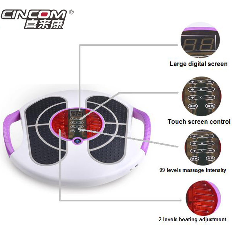High Quality Biological Electromagnetic Wave Pulse Blood Circulation tiens foot Massager