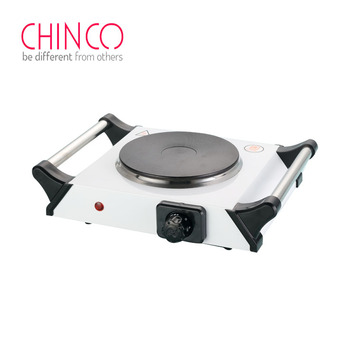 electric cooker single solid with handles Protection hand portable with downdraft exhaust burner