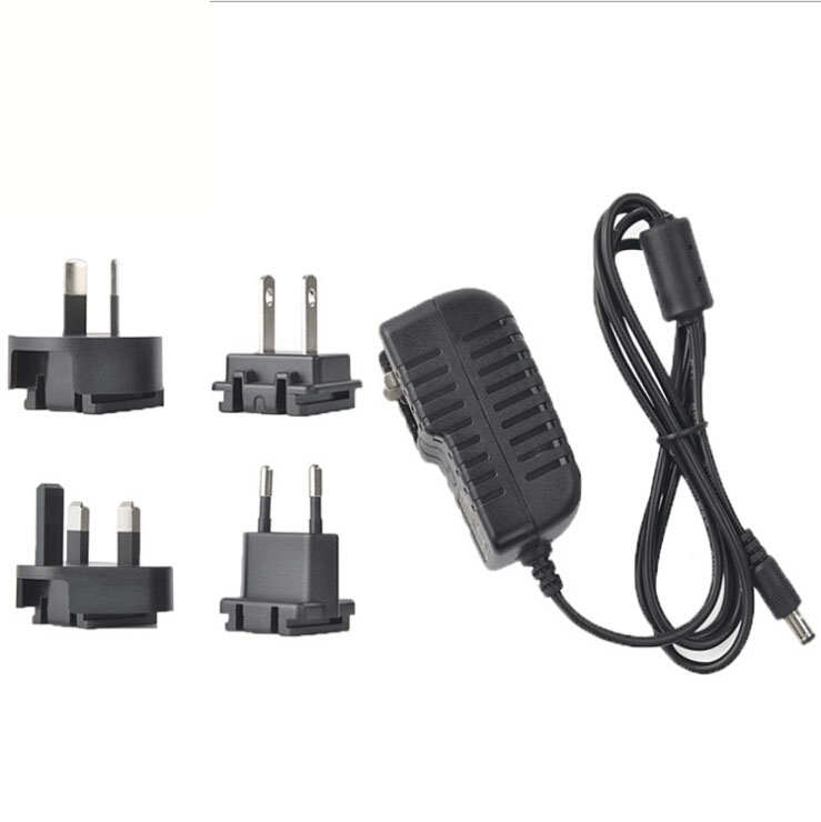 AC/DC 3A สีขาว EU AC DC Power Adapter 12V 3.3A 40W