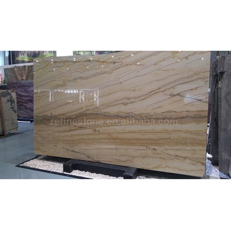 London Gold Tile Custom Stone Slab Marble