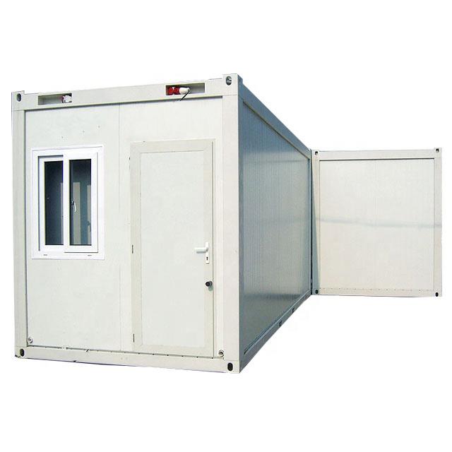 Высокое качество современный в виде коробки с плоским корпусом сборных домов в качестве домашней цена