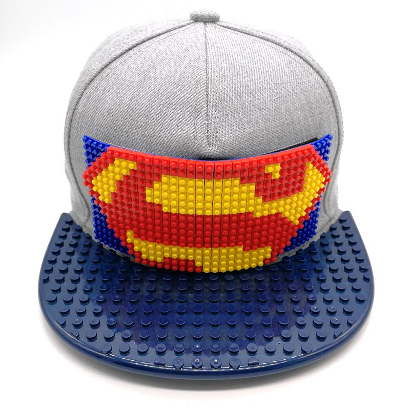 INS Individuality DIY Case For Lego Building Bricks Puzzle Kids Hats