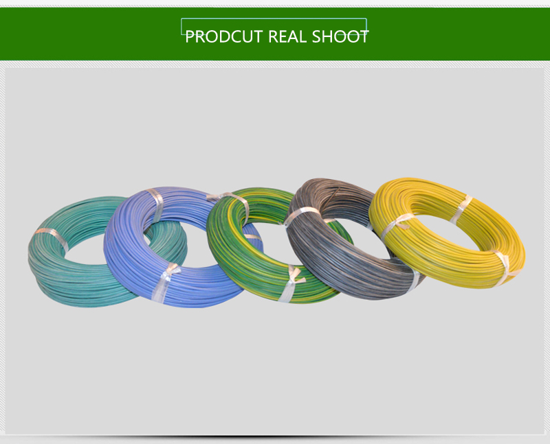 AWG 10 AGR 6mm2  Factory direct sale silicone rubber coated electrical wire