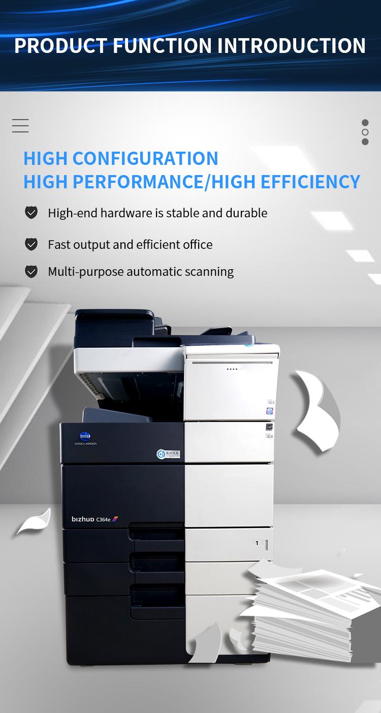 A3 Paper All-in-one Printer A4 Colour Printer for Konica Minolta c364 c284 c224 Paper A4 Printing Machine Office