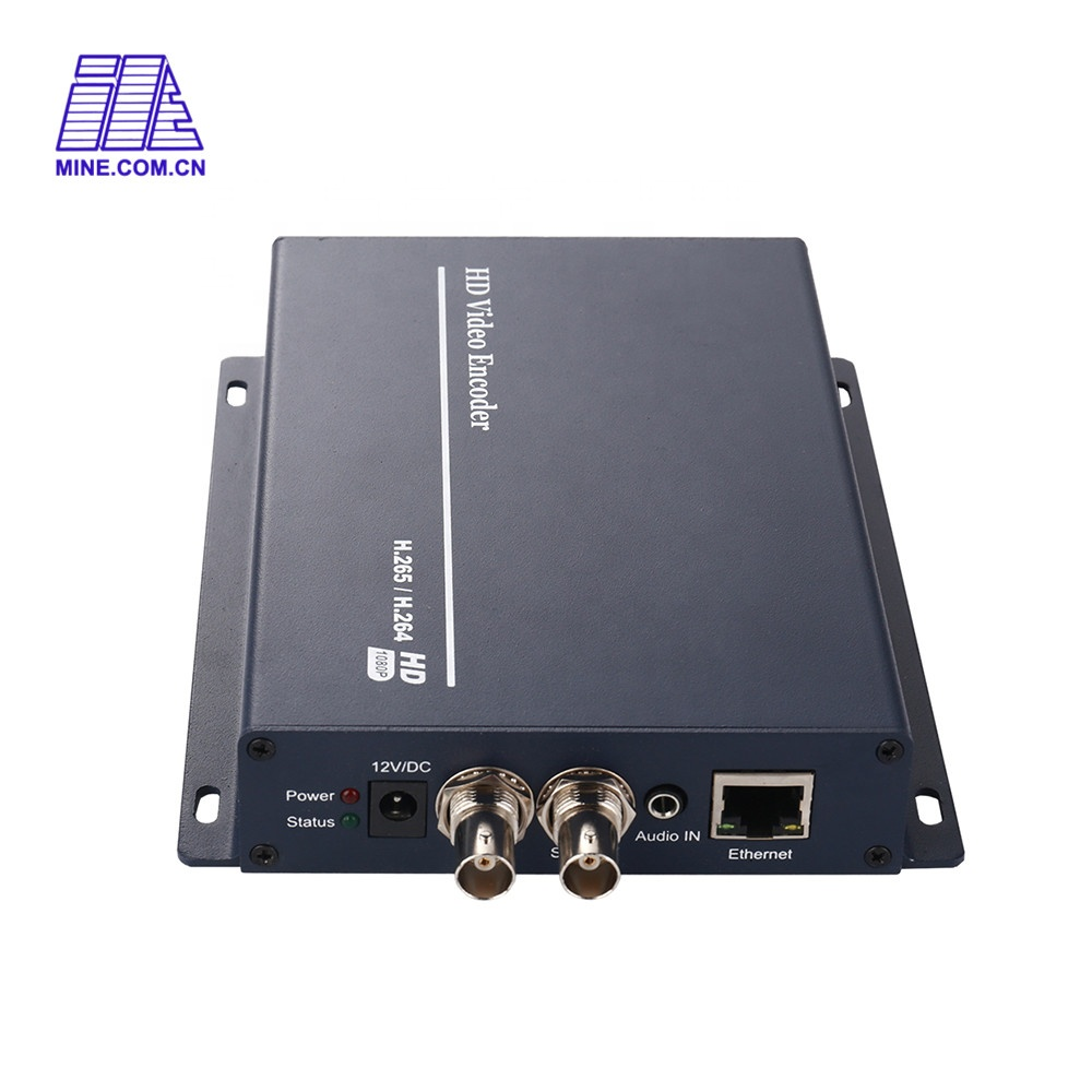Mpeg-4 Avc/h.265 Completo SDI Onvif Ip Codificatore Video di Lavoro Con MV-E1005S-SDI Iptv Encoder