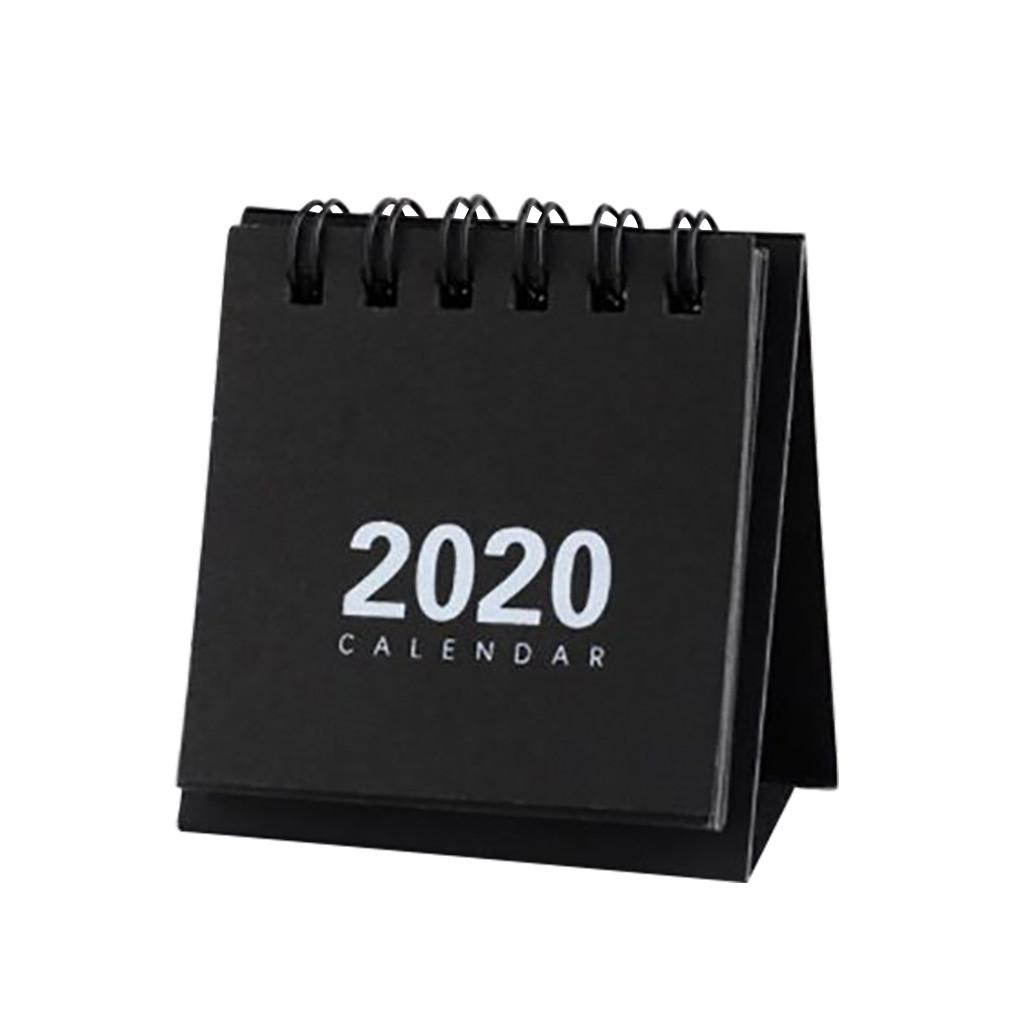 2020 настольный мини-календарь стоячий флип-календарь ежедневный ежемесячный Настольный планировщик Органайзер для дома, школы, офиса F1211(Китай)