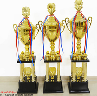 best selling trophy designs unique sculpture metal trophy