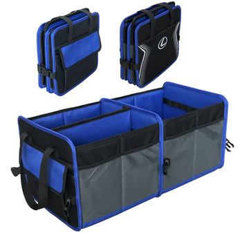 Original Manufacturer Supply Auto Brand Promotion Collapsible Car Trunk Organizer