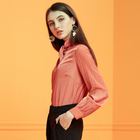Autumn Indian Latest Fashion Women Long Sleeve Shirt Casual Blouse Slim Tops T Shirt