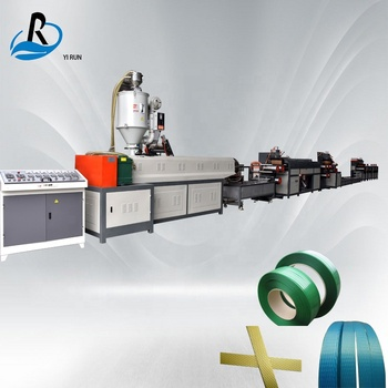 Fully automatic single screw pp belt strapping band pet strapping rope making machine