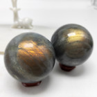 High quality natural folk crafts healing stone labradorite crystal balls for decoration