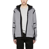 Fashion design men's hoodies silver reflective fleece tracksuit jackets
