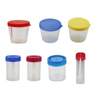 Disposable medical urine and stool container PS,PP material
