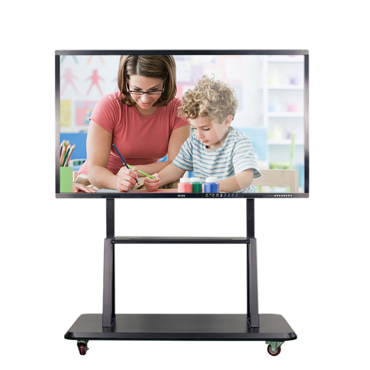 classroom and meeting room use TV UHD 3840x2160 high resolution interactive touch screen whiteboard