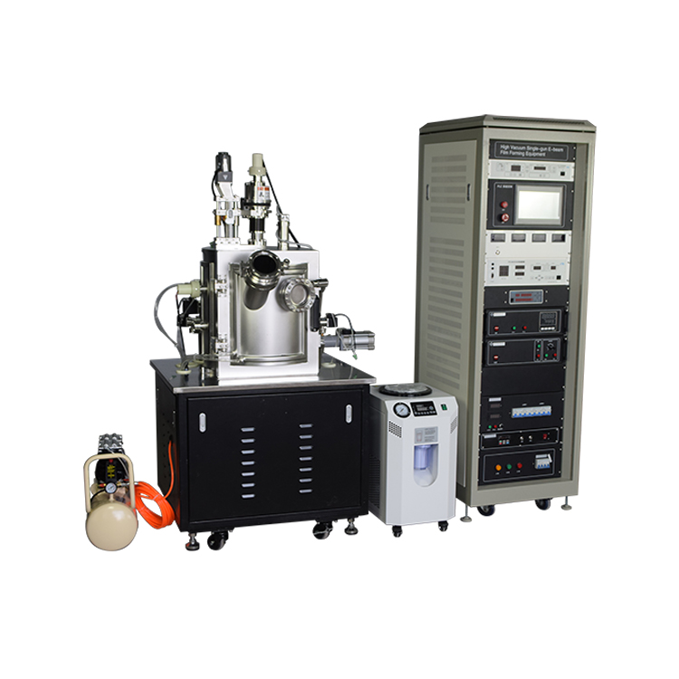 Factory direct electron beam evaporation coating machine for Al, CO, Ni, Fe alloy or oxide film