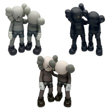 KAWS collectible pvc action figure can move hand and head
