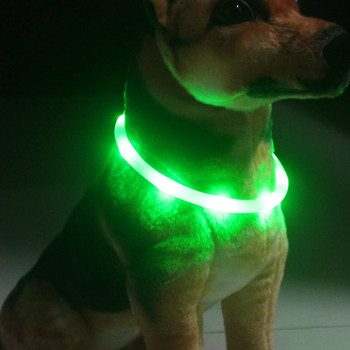 High Quality USB Powered Led Dog Collar Rechargeable Light Up Dog Safety Collar