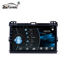 Bosstar Moldura <span class=keywords><strong>Digital</strong></span> Android Car Radio Stereo Fascia para Toyota Prado 2002-2009 com WIFI hotspot Bluetooth Phone Book DVR MIC