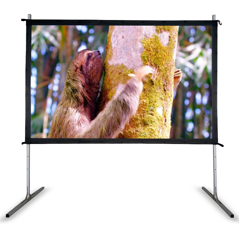Big size High quality fast folding <strong>portable</strong> front/rear projection <strong>screen</strong> projetor <strong>screen</strong> from 100inch to 400inch