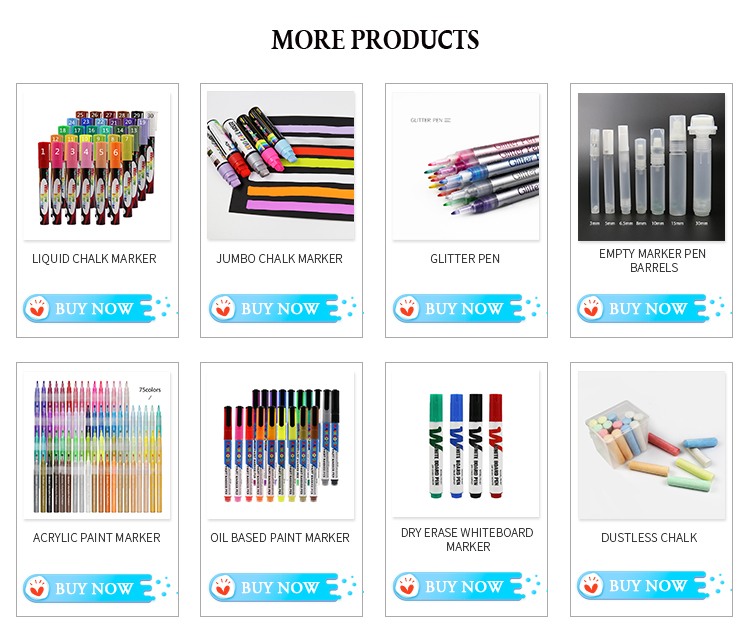Amazon hot sale water Resistant porcelain acrylic paint pen marker pens