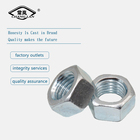 Factory price standard size carbon steel hex nut m8 din 934
