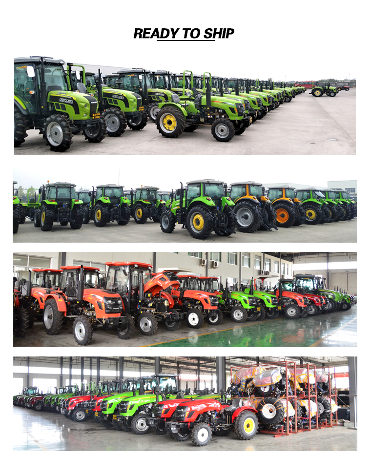 10% Off Accessories Sent As Gifts High Quality Tractor Farm Agriculture Machinery Equipment With 140HP