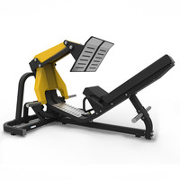 Commercial Gym Equipment / Hammer Strength Leg Gym Exercise Equipment