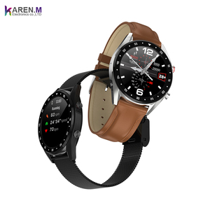 New IP68 Waterproof Making Calls PPG ECG smartwatch L7 Smart Watch with Heart Rate Blood Pressure
