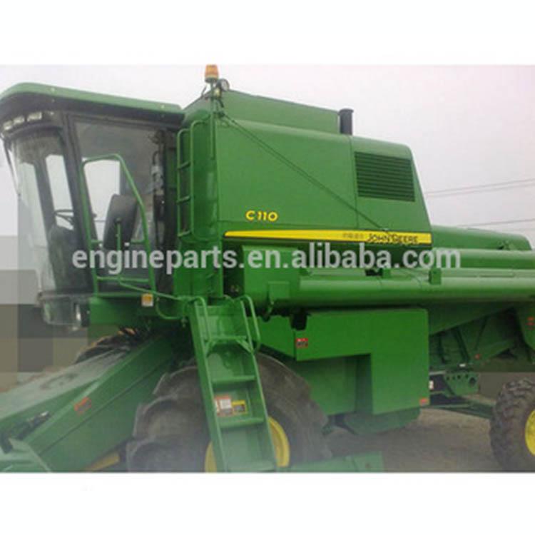 price of rice combine harvester, John deer C110 combine harvester, functions of combine harvester C110 John deer