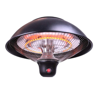 1500W single halogen carbon fiber tube light outdoor infrared patio electric ceiling heater