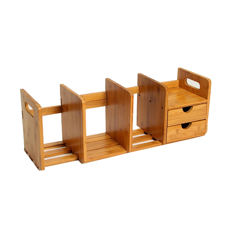 Multi Specification Removable For Easy Storage Bamboo Drawer Organizer