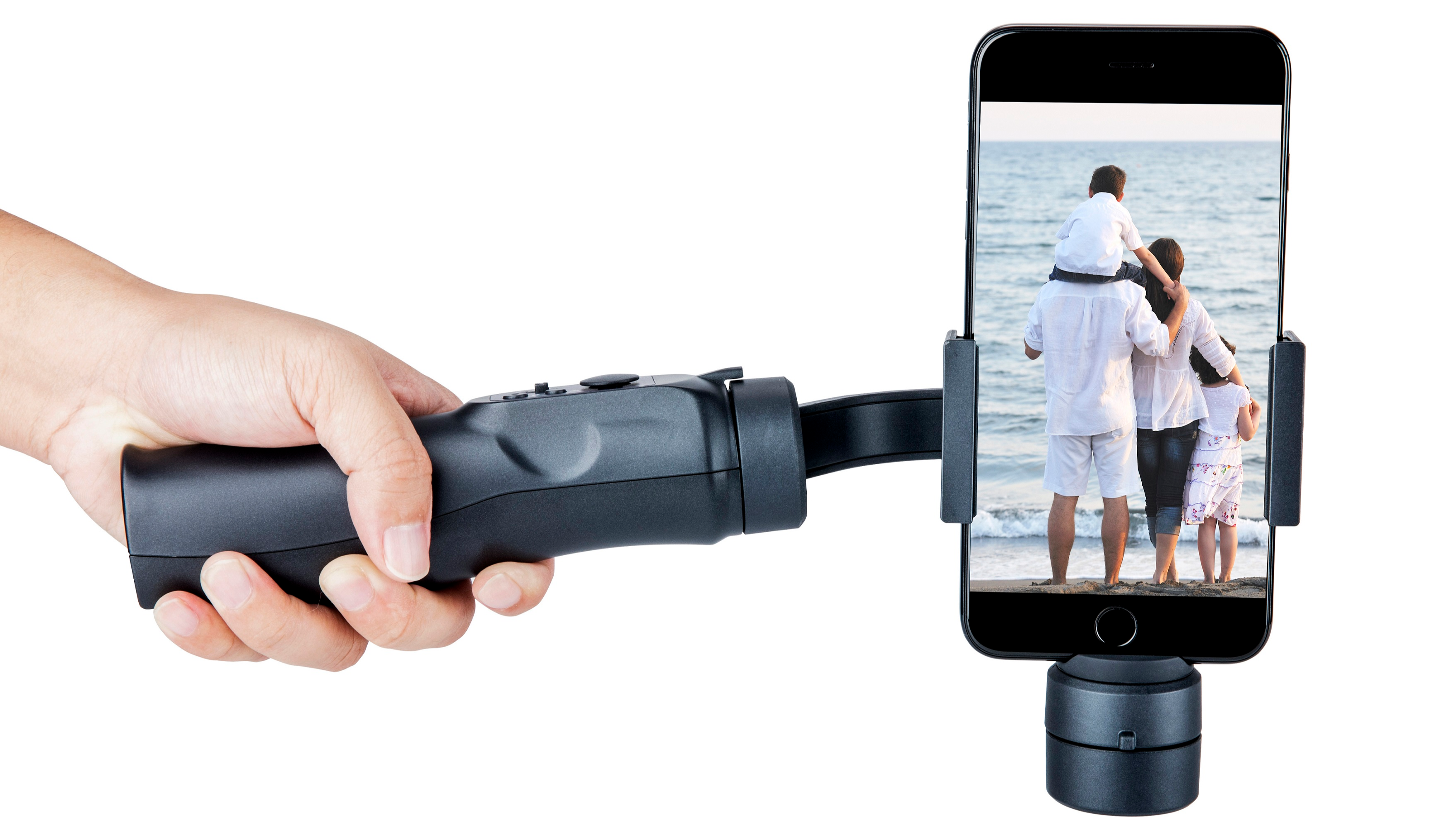 3 Axis Handheld Gimbal Stabilizer Face Tracking For Smart Phone Tracking Tripod Action Camera Phone Stabilizer
