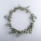 China Factory Supplied Top Quality Wreath Base Boxwood Wreath Small Head Wreath