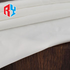 Packaging Customization Satin Fabric High Quality Soft Feel Bright Luster White Matte Silk Elastic Satin Fabric For Garment