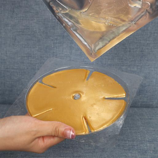 Breast Mask Actiates Cells Gold Crystal Natural Green Oem Key China Golden Acid Item Hydrogel