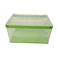 High Quality Collapsible Boxes Bins Plastic Stackable Storage Crate Box