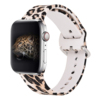leopard silicone watch band for apple watch