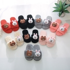 Women's Comfy Memory Foam Cute Animal Bear Bunny house shoes, Novelty Slippers