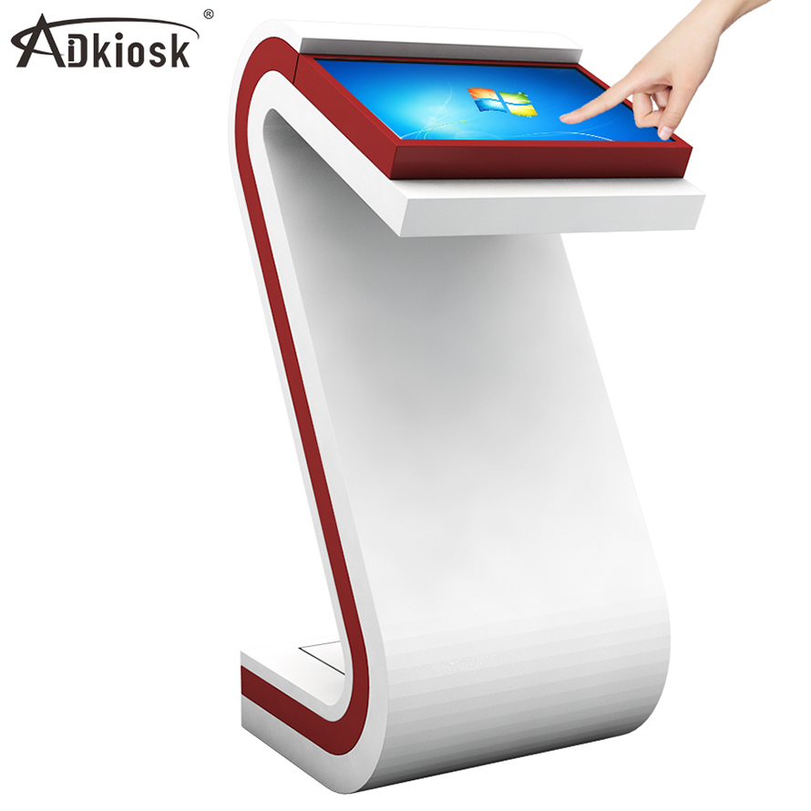<strong>22</strong> inch indoor advertising built in PC touch screen digital signage internet display kiosk machine