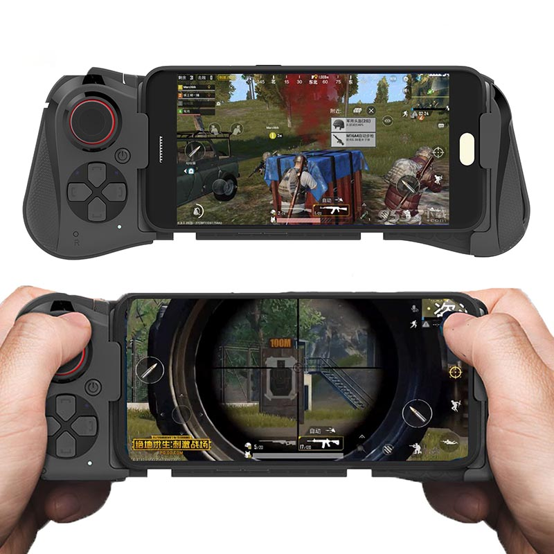 Wireless Game pad <strong>Bluetooth</strong> <strong>Android</strong> Joystick <strong>Controller</strong> PUGB Gaming Gamepad Console For IOS iPhone Smartphone PUBG Mobile Joypad