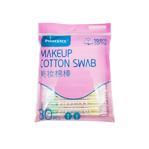 Beauty makeup swab Assist on makeup/spiral tip double tip paper stick /discharge eye makeup cotton swab