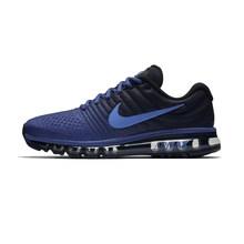 Оригинальные мужские кроссовки для бега Nike AIR MAX 2017, спортивные уличные дышащие кроссовки с сеткой, Спортивная Дизайнерская обувь 849559-010(Китай)