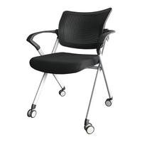 Modern Furniture Meeting mesh black office chair conference meeting room chair