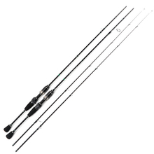 In Lager Ultra Licht Spinning/Casting Rod 1,68 m 2 Abschnitt Hohe Carbon Angelruten