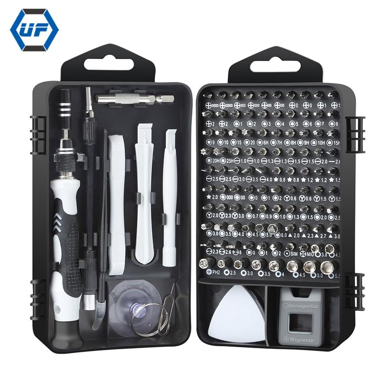 115 in 1 Household Computer Laptop Mobile Phone Screwdriver Set DIY Repair Tool Kit