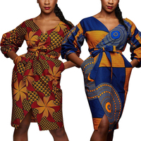 African Dresses For Women Bazin Ankara Dresses Riche African Print Clothes For Women