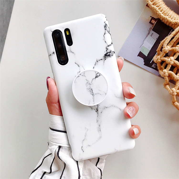 Eco-Friendly TPU Frosted Anti-slip <strong>Phone</strong> Case IMD Custom Airbag Stand For Huawei Mate20 Mate20Pro