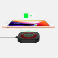 Customized Thin Fast wireless mobile phone charger for iPhone 8 plus x xs max