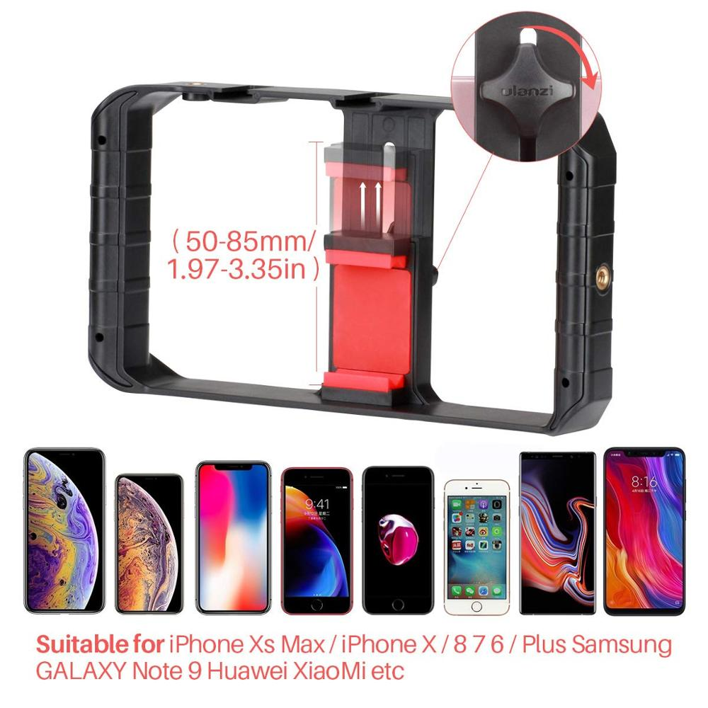 Hot Sale ULANZI U Rig Pro Smartphone Video Rig Filmmaking Case Phone Video Stabilizer Grip Tripod Mount for iPhone Smartphone